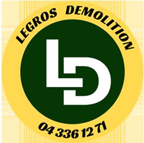 Legros Démolition, l'entreprise de démolition à Bruxelles, Liège et partout en Belgique