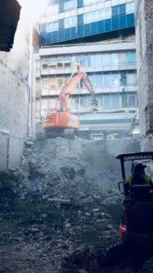 maison mitoyenne liege travaux demolition