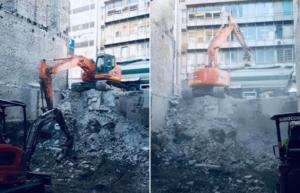 demolition liege outemeuse mean mitoyenne maison habitation