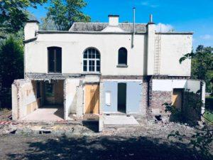 demolition mise a nu batiment liege
