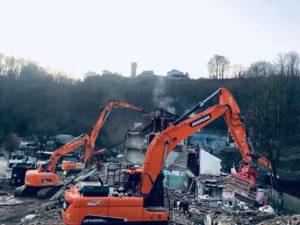 engin demolition liege
