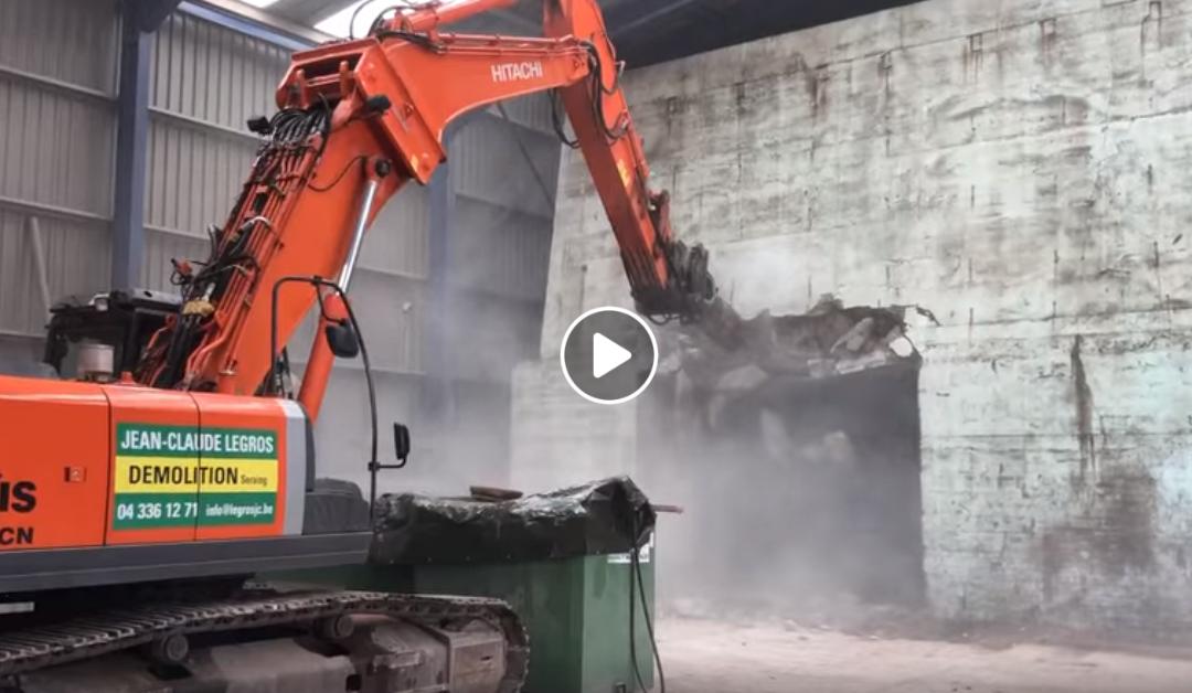 demolition bunker seraing liege
