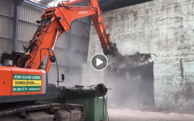 Vidéo de la démolition d'un bunker