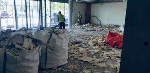 demolition chape isolee bruxelles