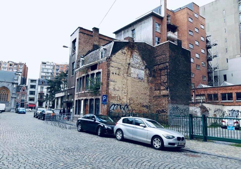 Démolition en urgence d'un bâtiment instable