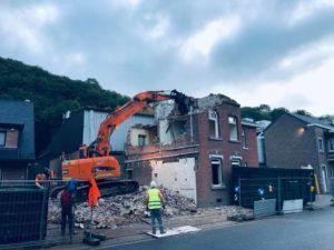 demolitiioon entreprise liege