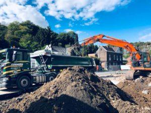 demolition batiement terrassement flemalle liege seraing