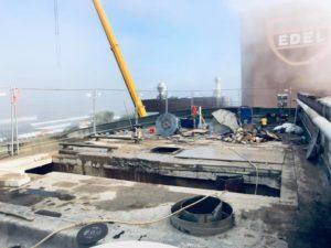 demontage toiture industrie