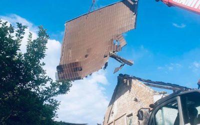 Legros démolition reste ouvert pendant les congés du bâtiment