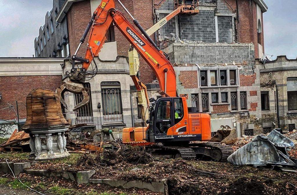 Cap sur notre chantier au Casino de Namur !